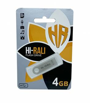 USB Flash Hi-Rali 4 Gb
