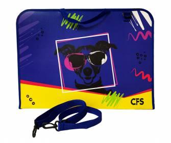 Портфель пластиковий А3 Cool For School 30003